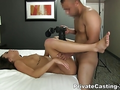 Private Casting X - Big American cock in London