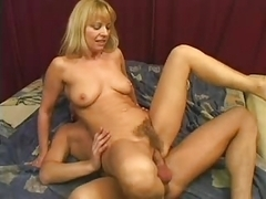 Moms pussy is so very HAIRY..