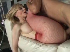 Horny old lady get fucked