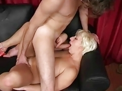 Blonde Russian Mature Pro Blowjob